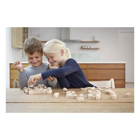 Alphabet blocks - Kay Bojesen - Kay Bojesen - Gifts - Furniture by Designcollectors