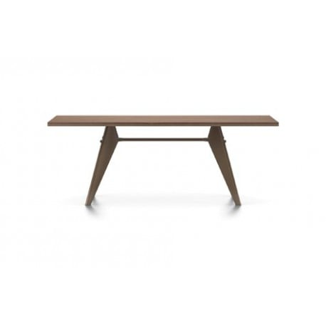 EM Table (wood) - vitra - Jean Prouvé - Dining Tables - Furniture by Designcollectors