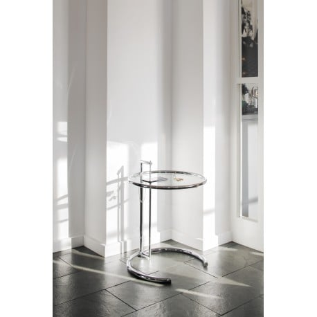 Adjustable Table E1027 - Classicon - Eileen Gray - Low and Side Tables - Furniture by Designcollectors