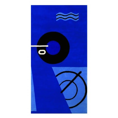 Blue Marine Rug - Classicon - Eileen Gray - Furniture by Designcollectors