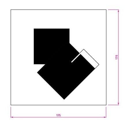 dimensions Castellar Rug - Classicon - Eileen Gray - Textiles - Furniture by Designcollectors