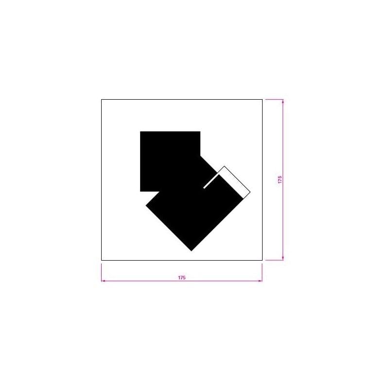 dimensions Classicon Castellar Rug - Classicon - Eileen Gray - Textiles - Furniture by Designcollectors
