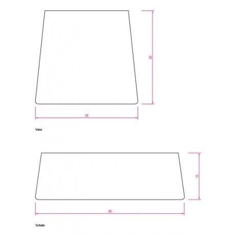 dimensions Vase - Classicon -  - Accessories - Furniture by Designcollectors