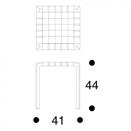Y61 Stool - artek - Alvar Aalto - Stools & Benches - Furniture by Designcollectors