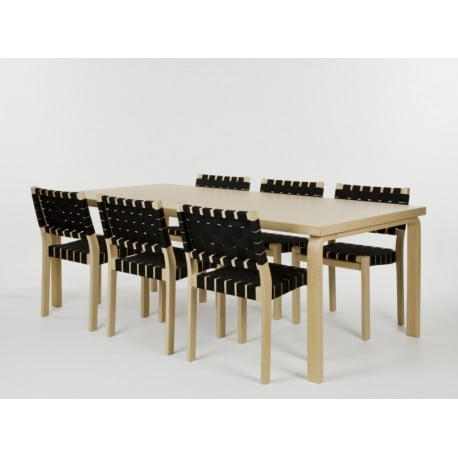 86 Table - artek - Alvar Aalto - Dining Tables - Furniture by Designcollectors