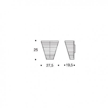 dimensions A910 Wall Light - Artek - - Lighting - Furniture by Designcollectors