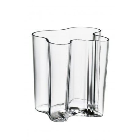 Alvar Aalto Collection Vaas 200 mm Helder - Iittala - Alvar Aalto - Furniture by Designcollectors