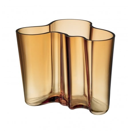Alvar Aalto Collection Vase 160 mm Desert - Iittala - Alvar Aalto -  - Furniture by Designcollectors