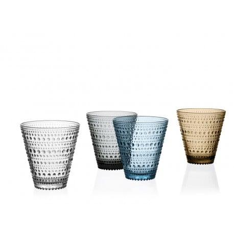 Kastehelmi Tumbler 30 cl 2 pcs Grey - Iittala - Oiva Toikka -  - Furniture by Designcollectors