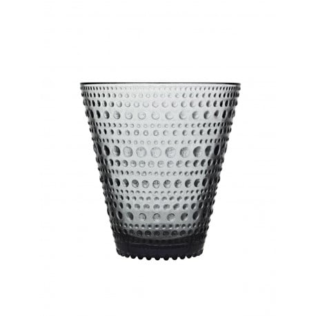 Kastehelmi Tumbler 30 cl box 4 pcs Grey - Iittala - Oiva Toikka - Home - Furniture by Designcollectors