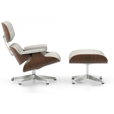Lounge Chair & Ottoman (new dimensions) - vitra - Charles & Ray Eames - Arm & Lounge Chairs - Furniture by Designcollectors