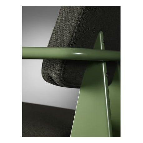 Prouvé RAW Fauteuil Direction Pivotant (Tissu) - vitra - Jean Prouvé - Chairs - Furniture by Designcollectors