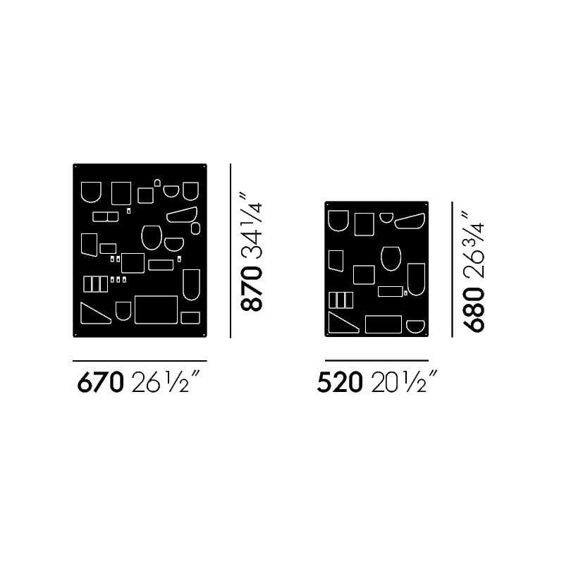 dimensions Uten.Silo 2 Blanc - vitra - Dorothee Becker - Accueil - Furniture by Designcollectors
