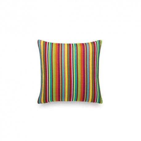 Classic Pillows Maharam - Millerstripe Multicolored Bright - vitra - Alexander Girard - Textiles - Furniture by Designcollectors
