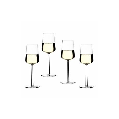 Essence Glas Witte Wijn 4 - Iittala - Alfredo Häberli - Home - Furniture by Designcollectors