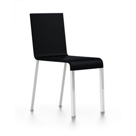 MVS.03 Chair (Without Armrests) legs Silver RAL 9006 - Vitra - Maarten van Severen - Home - Furniture by Designcollectors