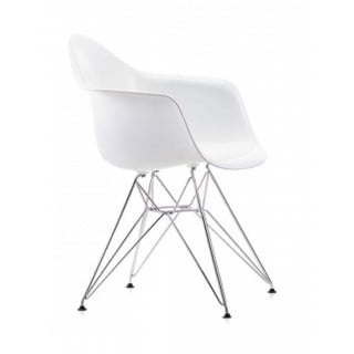 Eames Plastic Armchair DAR without upholstery