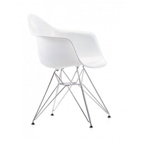 Eames Plastic Armchair DAR without upholstery - Vitra - Charles & Ray Eames - Furniture by Designcollectors