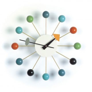 Ball Clock - Multicolor