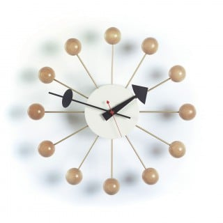 Ball Clock - Natural