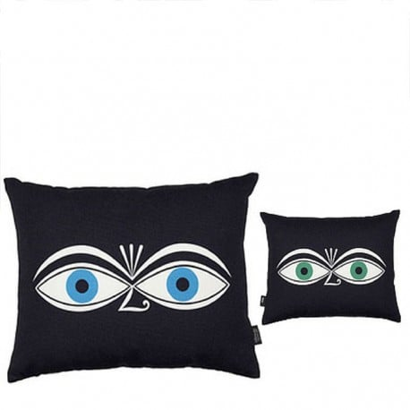 Graphic Print Pillow: Eyes - vitra -  - Textiles - Furniture by Designcollectors
