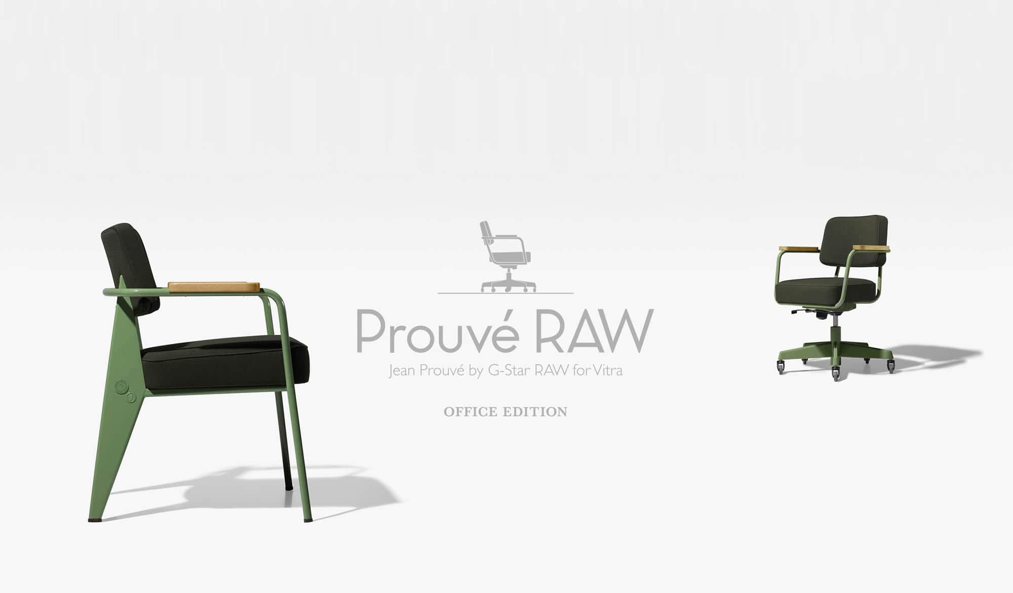 Jean Prouvé by G-Star RAW office chairs