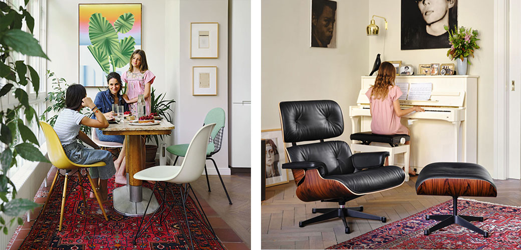 Lounge Chair & Ottoman - 5+1 promotion