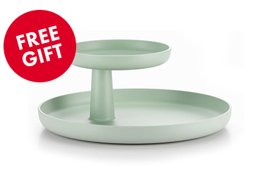 FRE GIFT : Rotary Tray Mint Green